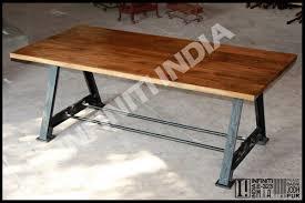 Industrial Look Dining Set U2013 ApoemforeverydaycomIndustrial Look Dining Table