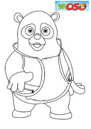 Small Picture Special Agent Oso Coloring Pages Learn To Coloring