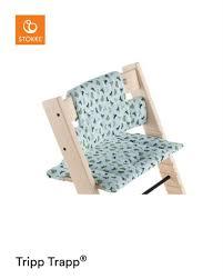<b>Подушка для стульчика</b> Stokke Tripp Trapp Бирюзовые лисы ...