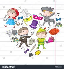 Elements Of Design For Kids Children Theatre Patterns Elements Design On Royalty Free