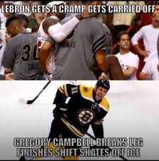Hockey Fans Using Rich Peverley To Shit On LeBron James Are The Worst via Relatably.com