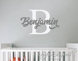 nursery wall decals personalized names wall decal for boys and girls rooms personalized wall on personalized name wall art for nursery with nursery wall decals personalized names wall decal for boys and