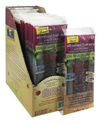 all natural fruit strip orchard cherry 0 5 oz stretch island fruit