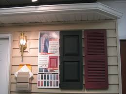 shutters can be put alongside windows and doors either on the home and or the garage