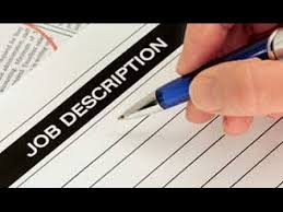 Samples Of Job Descriptions How To Write A Job Description In 5 Steps