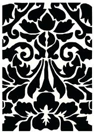 ikea black and white rug black and white rug area rugs brown zigzag black and white