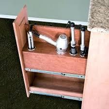 salon appliance holder desktop and hair dryer tool wall mount station iron