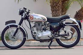 1960 bsa gold star me auctions monterey