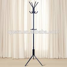 Hotel Coat Rack Hotel Metal Steel Coated Standing Clothes Rack Coat Rack Hat Rack 64