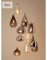 bhs nadine cer flush ceiling light chandelier modern living bnib rrp 195