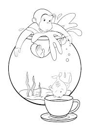 Coloring Pages Curious George Curious George Coloring Pages Pdf