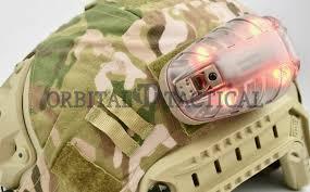 Military Strobe Light Core Survival Hel Star 6 Helmet Strobe Light Hs 640 04t Green Red Ir