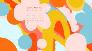 January 2021 Calendar Wallpaper - Sarah ...