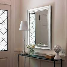 Transitional Beaded Wall Mirror - Silver - Threshold