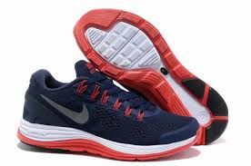 nike shoes red for men. navy blue and red running shoes for men nike