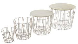 wire baskets tables set 49 99 aldi s latest special s include graphic prints and soft
