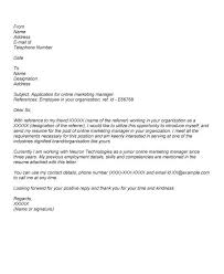 Sample Of A Job Application Cover Letter Cover Letter For Online Application Papelerasbenito