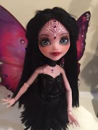 ooak monster high repaint faceup odile draculaura by candy janney