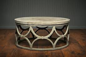 round concrete coffee table concrete coffee table for