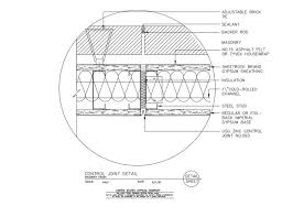 metal framing header detail. Unique Framing 09 21 1663102 Light Steel Framing Control Joint Detail And Metal Header