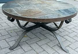 round stone coffee table trend stone top coffee table metal and stone coffee table wonderful best round stone coffee table