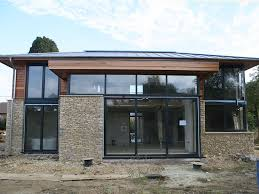 Image result for contemporary stone and timber cladding