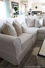 cover furniture. sectional slip cover confessions of a serial doityourselfer furniture e