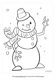 Simple coloring pages of snowmen (and snowwomen, snow girls and snow boys!) are charming free printables for a winter activity to keep little hands busy. Snowman Coloring Pages Free Winter Coloring Pages Kidadl