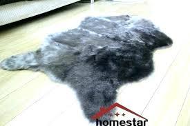 fake bear skin rug faux skin rug grey faux fur rug luxury gy carpet animal skin fake bear skin rug faux fur