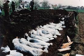 Image result for serbian genocide mass graves
