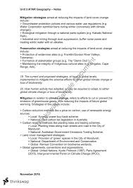 geography atar units summary year wace geography  geography atar units 3 4 summary