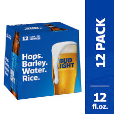 12 Pack Bud Light Bottles Bud Light Beer 12 Pack Beer 12 Fl Oz Bottles Walmart Com