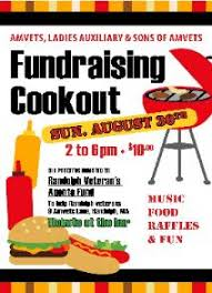 cookout fundraiser flyers sq 51 sons of amvets