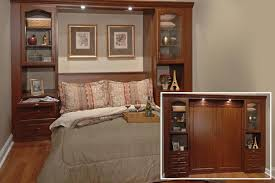 office wall bed. custom murphybed transforms bedroom to office wall bed e