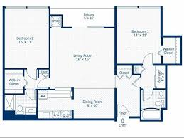 2 bedroom 2 bath floor plan of property detroit city apartments luxury apartment living with modern resort cl amenities in detroit s central business