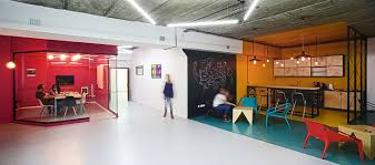 office color design. View In Gallery Chalkboard Wall Black For The Creative Zone Office Color Design