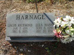 Lela Mann Harnage (1886-1951) - Find A Grave Memorial