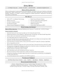 Entry Level Medical Billing And Coding Resume Medical Billing Coding Resume Sample Entry Level Examples For And