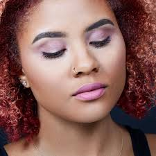 monochromatic mauve makeup tutorial try the ultimate fall eye makeup trend