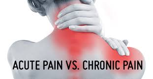 Image result for acute and chronic pain