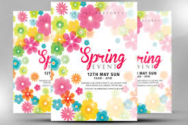 Spring Flyer Template Spring Event Flyer Template Spring Festival Flyer Template 14