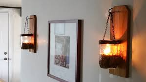 diy wall oil lamp and practically pretty for momma you