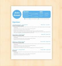 Creative Resume Templates Free Word Samples Examples Downloa Myenvoc