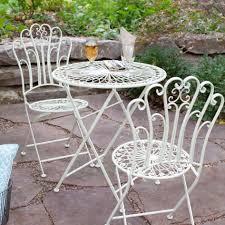 Luxury Ideas Wrought Iron Patio Furniture Sets Plain White Wrought
