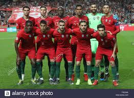 Lineup del Portogallo il team durante le qualificazioni - Gruppo B di Euro  2020 partita di calcio tra il Portogallo vs Serbia. (Punteggio finale:  Portogallo 1 - 1 Serbia Foto stock - Alamy