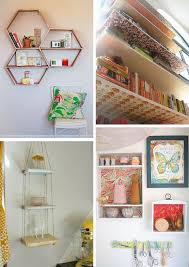 Bedroom, Astonishing Diys Room Decor Diy Room Decor Projects Diy Bedroom  Decor Honeycomb Shelves: