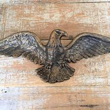 eagle wall plaque brass eagle antique eagle wall hanging flying