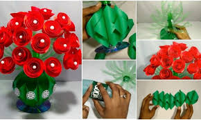 Paper Art Flower Flower Making Archives Simple Craft Ideas
