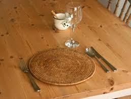 wicker tableware from kosmopolitan
