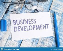Business Development Motivational Words Quotes Concept Stock Photo